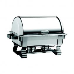 Chafing Dish Inox avec Couvercle Rolltop